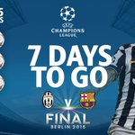 7 DAYS TO GO: Tevez has scored 7 #UCL goals this season, more than in his previous five campaigns combined! #UCLfinal http://t.co/m1vomK3VwZ