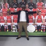 In the Arsenal dressing room @BT sport COYG http://t.co/JAT1fgIcpf
