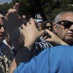 Insultos y agresiones a la prensa en una concentración contra @AhoraMadrid http://t.co/MX6YvMnL7q por @FJBARROSO1973 http://t.co/I3RWuVqzsl