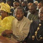 former President,Jonathan and wife,Patience at thanksgiving ceremony,Bayelsa http://t.co/UW2bi4QJF5 @vanguardngrnews http://t.co/UJTuzShfbv