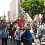 300 March to #EndAusterityNow #bristol http://t.co/WuZFVMFjg5