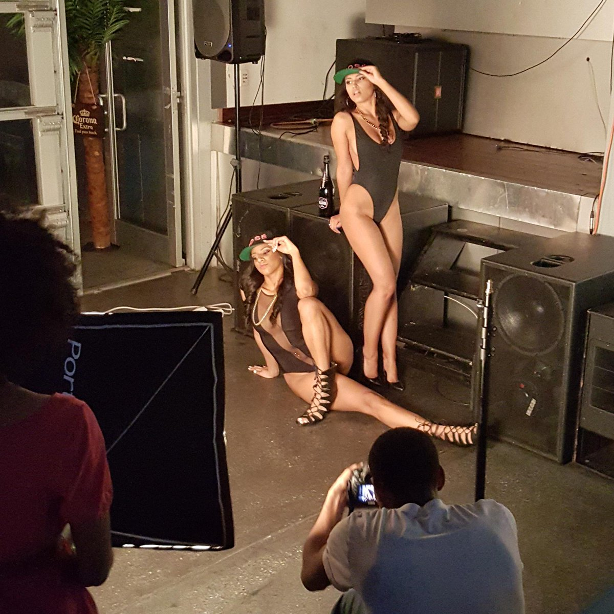 #BlackBottleGirls photoshoot http://t.co/6zwijc2tQd