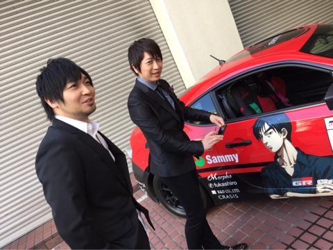 ブログを更新しました。 「高橋兄弟、車を撮る」→http://t.co/M5guEuM6yg http://t.co/g6TkJMDjC6