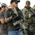 Your Religion is Violent! shouts biker guy brandishing a weapon at Muslim worshipers in #PHxMosque. Via @JonathanCohn http://t.co/0TYqjsKg5k