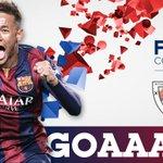 "@FCBarcelona: 37 Neymar scored on an assist from Suárez! ATH 0 - 2 FCB #FCBLive #CopaFCB #finalCopa http://t.co/Sd9D4Wp15I""@sabripergerakan"