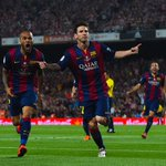 Yet another #SCtop10 goal from Lionel Messi. Barca now leads 2-0 after a goal by Neymar. http://t.co/JmnxTHNyiO http://t.co/1xzMljmHLZ