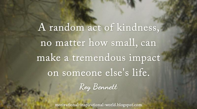 Random Acts of Kindness essays