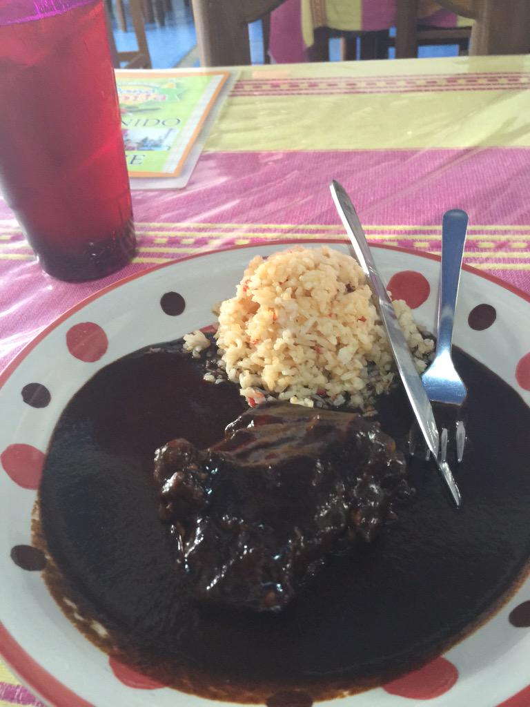 Killing the mole scene in Huatulco thanks to my #TopChefDuels winning cruise!   Thank you @foodandwine http://t.co/923ugnd0w5