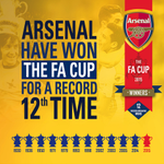 AND THERES THE FINAL WHISTLE! #FACupFinal #WeAreArsenal http://t.co/HmDgGmVrfK