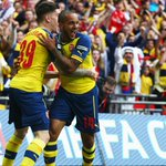 Congratulations to @Arsenal on defending their #FACup w/ a 4-0 win against @AVFCOfficial Pics: http://t.co/lZZ4DqrvQB http://t.co/kJ4SpqPFHM