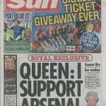 Her Royal Highness Queen Elizabeth II 4 Prince William 0 #WeAreArsenal #FACupFinal http://t.co/hITZV9wXZc