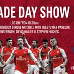 Cant make it to Islington tomorrow? Watch the parade LIVE on Arsenal Player: http://t.co/PW4dFVBfqK #WeAreArsenal http://t.co/fHSu3VIdwF