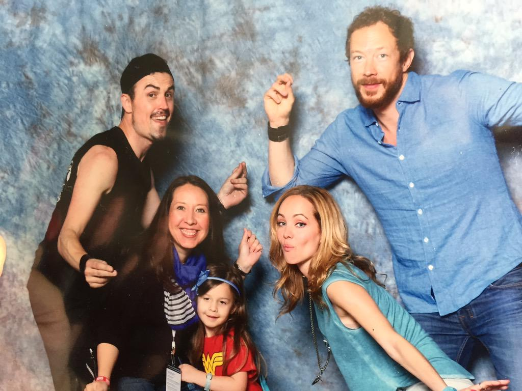 Thanks for the photo dance party! We'll see catch you later. @KseniaSolo @KrisHolden_Ried @PaulRogerAmos #LostGirl http://t.co/leDVUDEjhq
