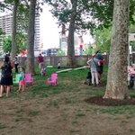 Enjoying @phillybeerweek in this lovely beer garden #jonesvacation2015 http://t.co/flzukQGUNH