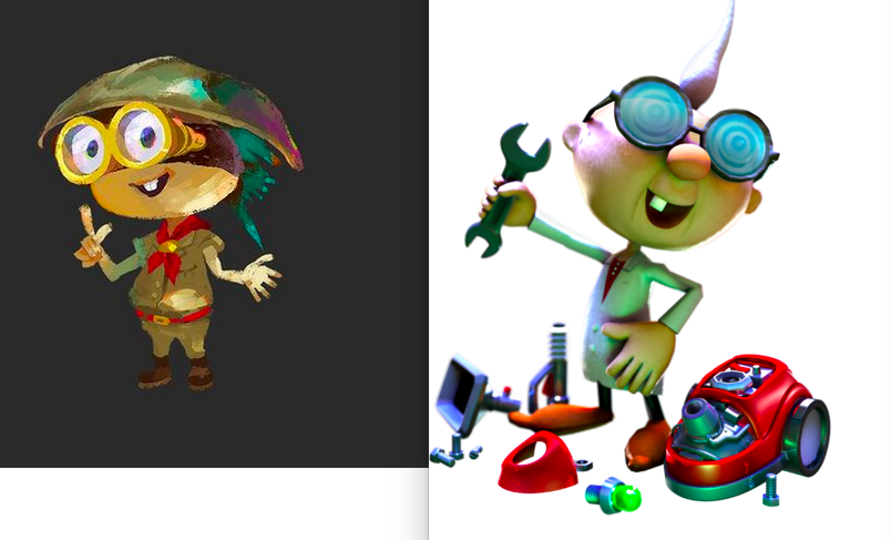 @pietepiet OR DID HE?! considering Splatoon is a prequel to Super Mario Sunshine it makes sense he's younger http://t.co/XgYHLxjHut