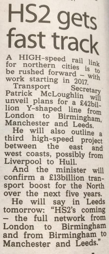 we pay 66% tax filling up =£42bn pa.Roads are in a mess but #hs2 being fast tracked @HowardCCox @QuentinWillson http://t.co/j6WcmKi6Yv