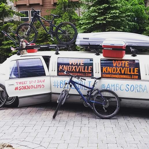 The #soknolimo is heading to DC today! We're off to get more support for #DowntownDownhill #BellBuilt campaign!! http://t.co/341ubvRN3R