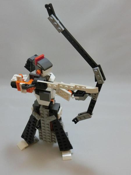 LEGO PlusL 31034キット組替えコンテスト参加作品(12) 「弓道」。昨日は久々に弓引きました。やっぱり自分は弓道作品を組まなきゃダメでしょ!  #LEGO #plusl1505  #kyudo http://t.co/ZkzTPc2tIS