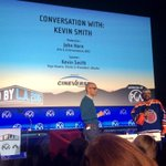 RT @cineverserental: Conversation with: Kevin Smith   #producedby @producersguild  @ThatKevinSmith CINEVERSE is proud presenting sponsor ht…
