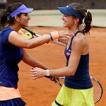 RT @IndiaInSports: French Open- Top seed @mhingis & @MirzaSania beats K. Knapp & R. Vinci in 3rd Rd of women's doubles: 6-1 6-4 http://t.co…