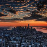 New York City sunset. #newyork #nyc via pixabay http://t.co/KEgr4we2Di