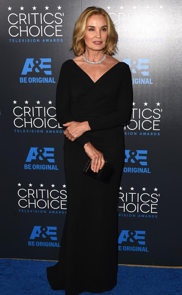 The supreme Jessica Lange arrives at CriticsChoice--see all of the arrivals: