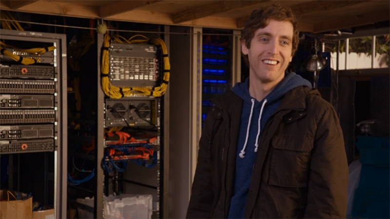 #PiedPiper powered by @PureStorage  #PaintItOrange @SiliconHBO @HBO! http://t.co/pjHh76OBVD