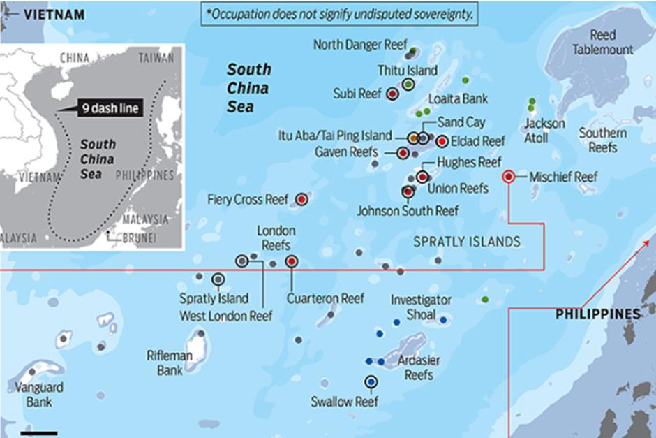 the spratly islands dispute why is Images of the largest of the disputed islands in the south china sea's paracel archipelago, that apparently has chinese missiles stationed on it.