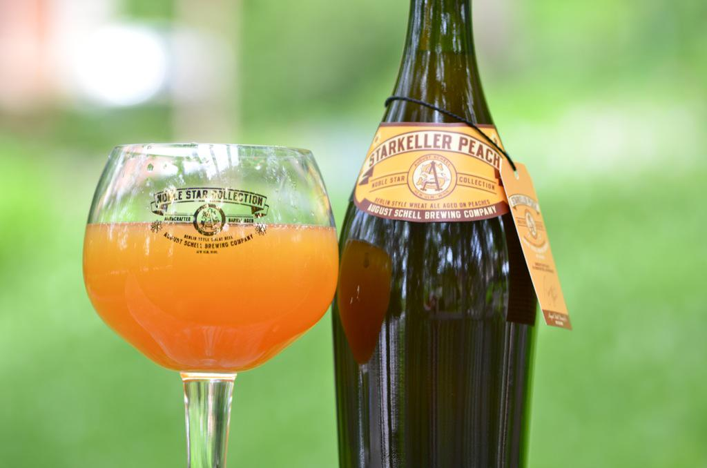 We're shipping #starkeller Peach this week! You should start seeing it on shelves in the coming weeks! #schells http://t.co/FxOR87Ns5a