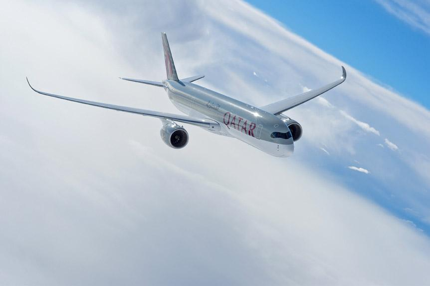 Philadelphia will be served with the QatarAirways Airbus A350 XWB from 1st Jan 2016.