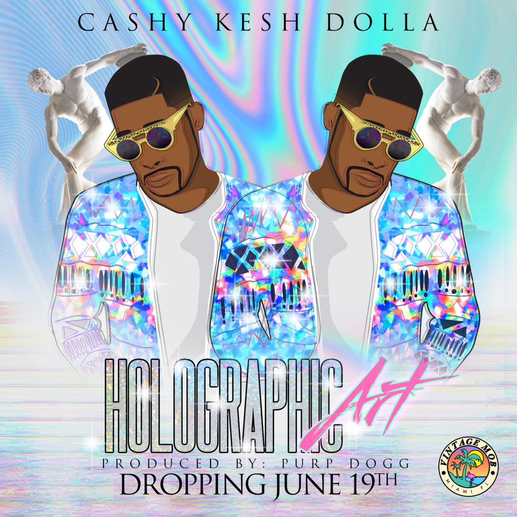 "June 19 -- ""Holographic Art"" EP http://t.co/ZGRCBfpLFq"