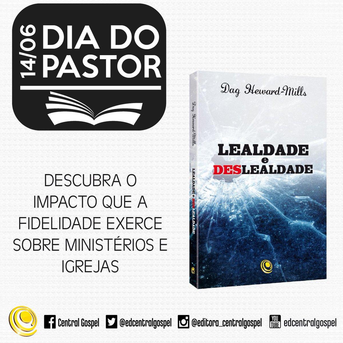 #DiaDoPastor O presente para o seu pastor e pastora está aqui!  ☛ http://t.co/C3JUwjrPOx  #Livro #DicaDeLeitura http://t.co/M3RU02AXY9