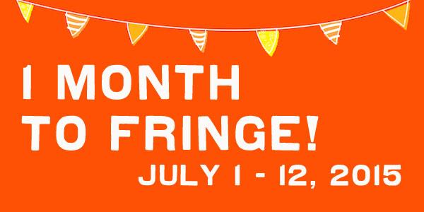 1 MONTH TO FRINGE! Fringe 2015 passes available NOW! Check out #FringeTO's new look here: http://t.co/vpXjJ6n2mk http://t.co/GBRVtGwzvJ