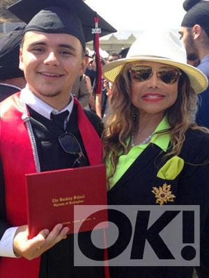 Michael Jackson's eldest son Prince has graduated and the family snaps are priceless: