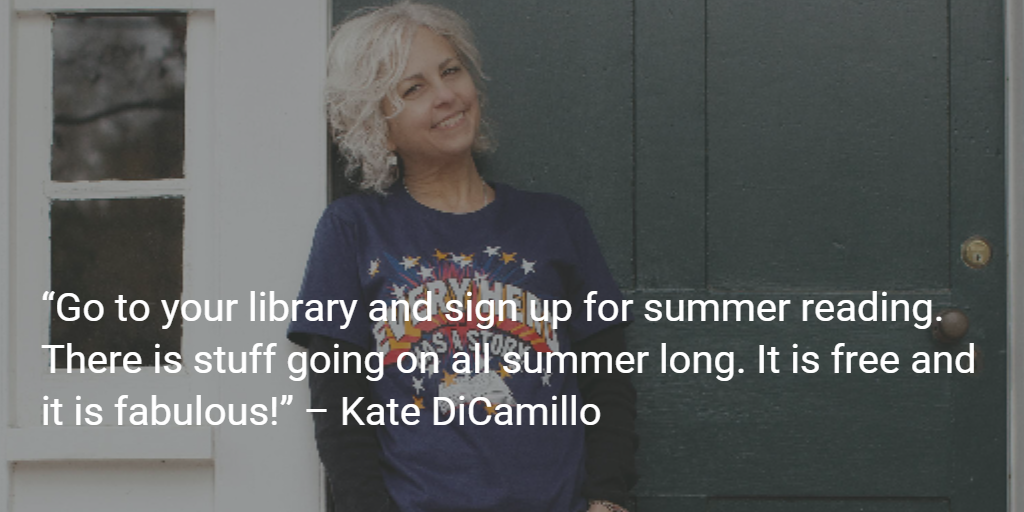Kate DiCamillo wants you to sign up for #SummerReading ! http://t.co/2pWwkFlUrs http://t.co/16xogaMCpn
