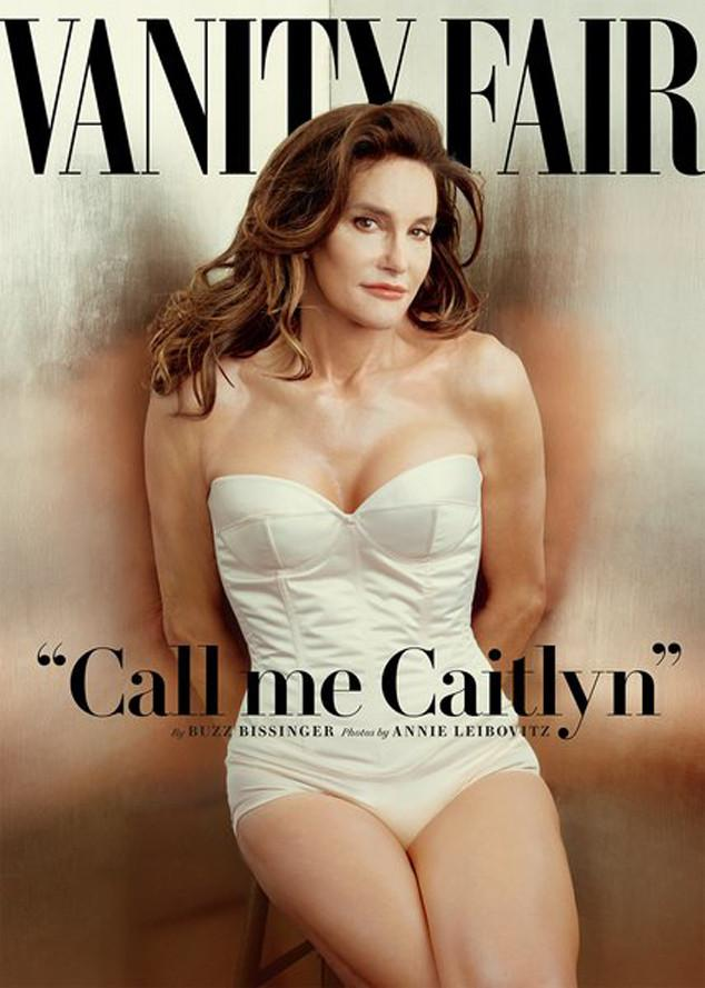 CallMeCaitlyn—Bruce Jenner's public debut as a woman on the cover of Vanity Fair: