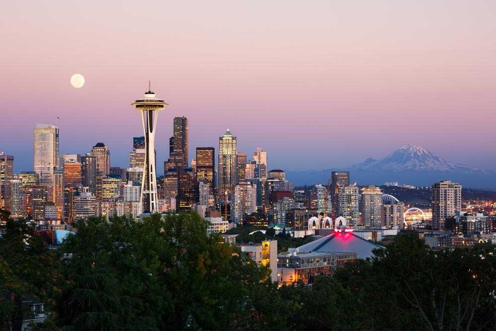 With 14 flights per day to Seattle getting your Emerald City fix is easyasSMF. @VisitSeattle