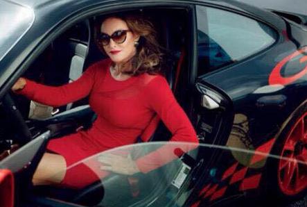 Your morning inspiration: @Caitlyn_Jenner driving her $180K Porsche, a gift from @KrisJenner.  http://t.co/kyx1oBRkW2 http://t.co/zYVOD3AV0g