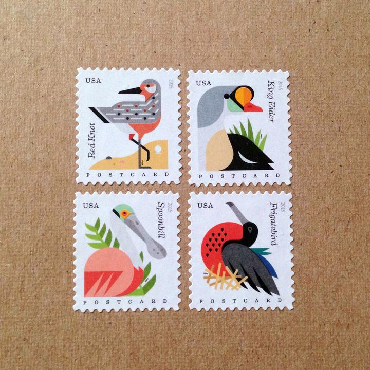 Beyond thrilled to finally share our Coastal Birds Stamps for the @USPS, available today! https://t.co/phCrlncTYm http://t.co/VkhbSZOPPC