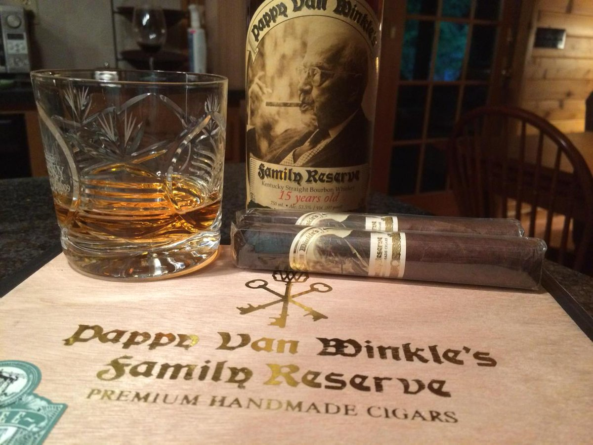 Now you can have your Pappy and smoke it too. Not a gimmick. A good smoke. http://t.co/z3ifHiqmWN