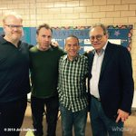 Thanks so much to @RealGilbert @iamcolinquinn & @TheLewisBlack for helping out at my daughters' school benefit http://t.co/naUC9BJuWU