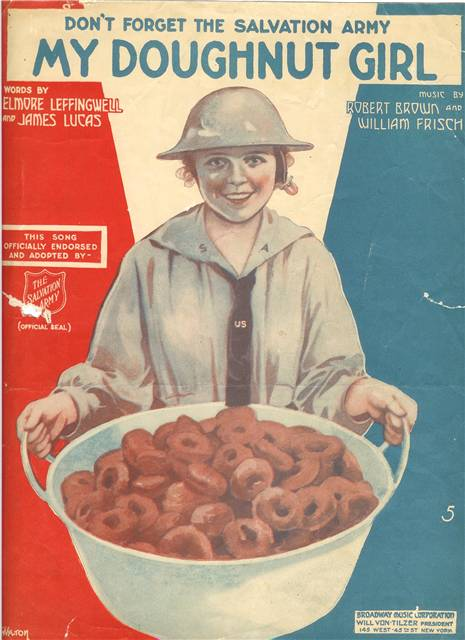 Did you know? #NationalDonutDay honors @SalvationArmyUS female WWI volunteers, who handed out treats to solders. http://t.co/n9IRvgHHTp