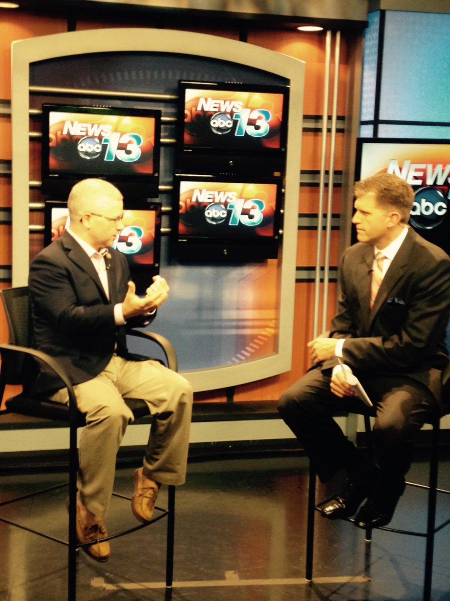 Stopped by @WLOS_13 for interview w/ @EvanDonovanNews. We covered VA & NSA. Video here