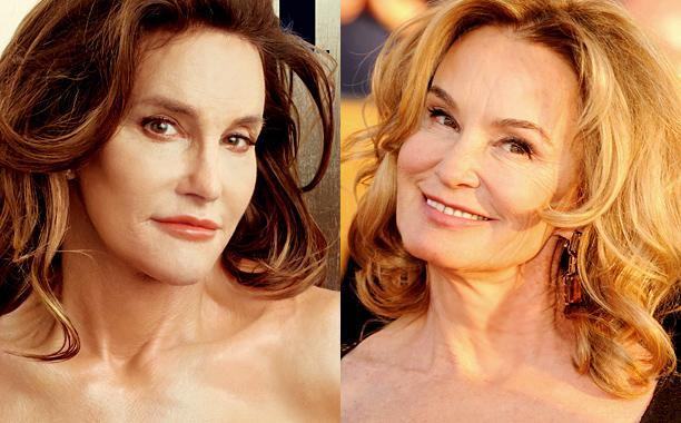 Jessica Lange thinks comparisons to @Caitlyn_Jenner are 'so wonderful':