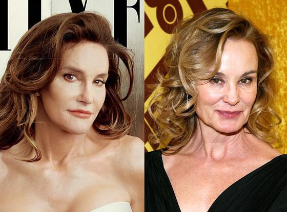 Jessica Lange reacts to the Caitlyn Jenner comparisons--