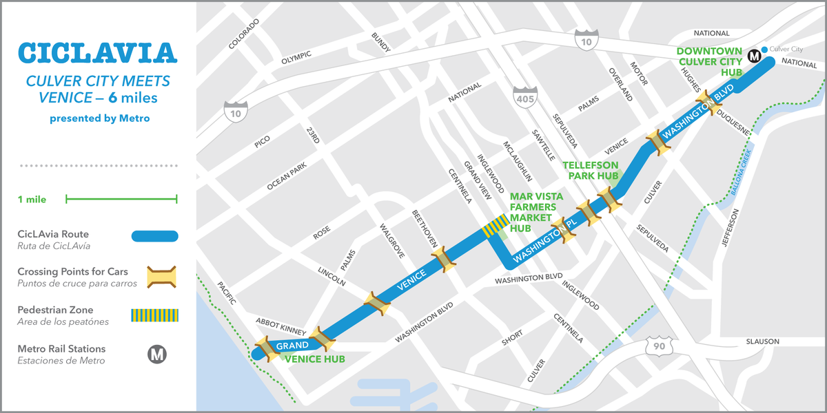 THIS JUST IN: 8/9/15 #CicLAvia Culver City Meets Venice - Presented by Metro. Join: https://t.co/Iqf9YI7Xwi http://t.co/3KzTeCFWjA