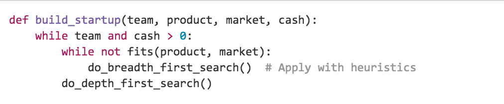 How to start a startup, in 5 lines of python http://t.co/nWjK50PEj1 #startuplife http://t.co/ZGkbcicJZ3
