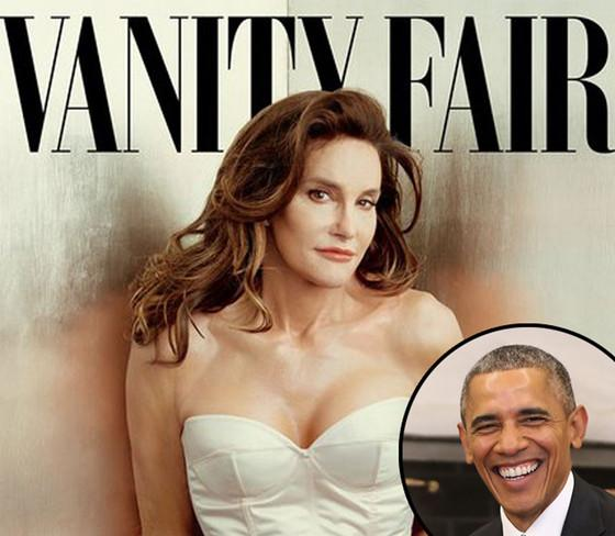President Barack Obama praises Caitlyn Jenner: ''It takes courage to share your story.''