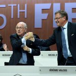 RT @ESPNFC: Authorities call Sepp Blatter's top deputy Jerome Valcke the man behind $10m payoff - report: http://t.co/TykR4zfLTu http://t.c…