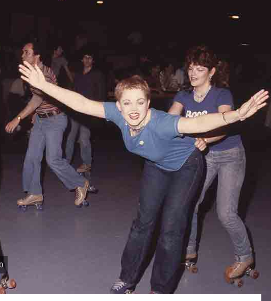 .@alisonmartino remembers Flipper's Roller Rink--now a CVS (that's @belindaofficial btw) http://t.co/aDqRWGCFGD http://t.co/ibLpKqvyYd
